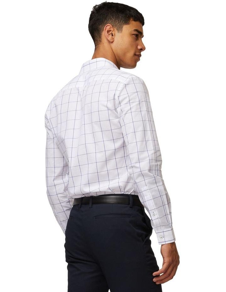 Windowpane Mod Long Sleeve Shirt image 3