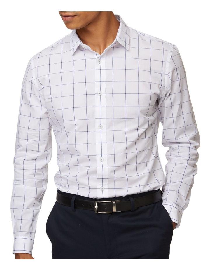 Windowpane Mod Long Sleeve Shirt image 4