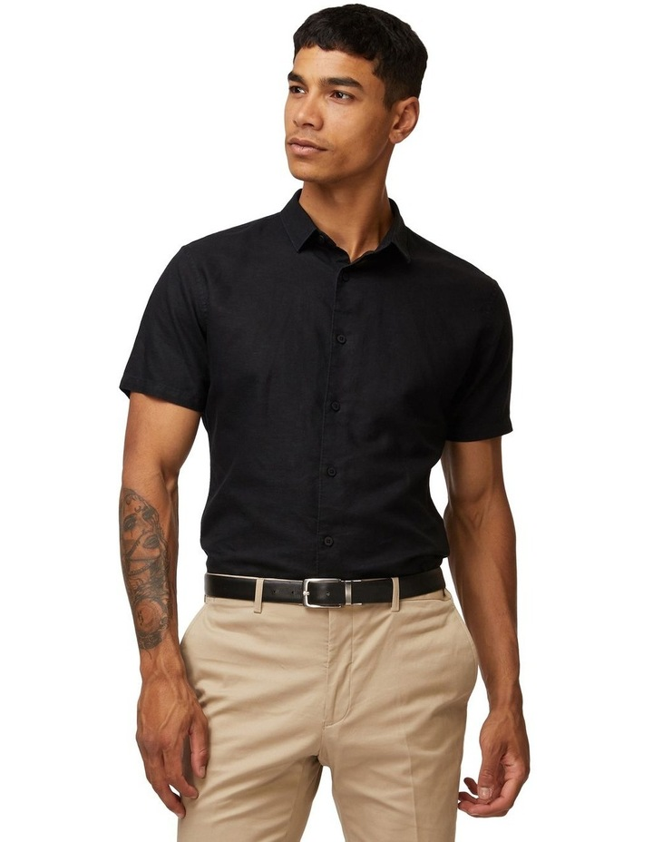 Black Lorne Short Sleeve Shirt image 1