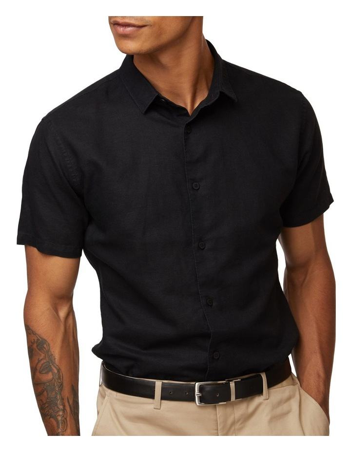 Black Lorne Short Sleeve Shirt image 4