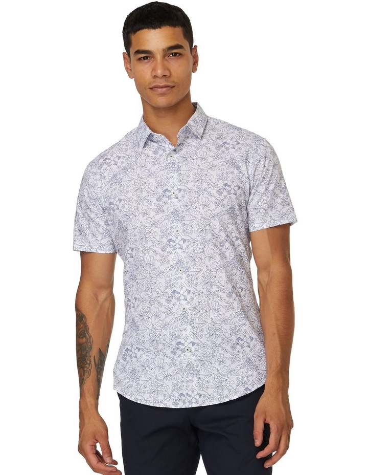 Oxford Floral Short Sleeve Shirt image 1