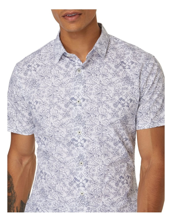 Oxford Floral Short Sleeve Shirt image 3