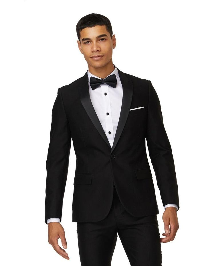 Jet Black Tuxedo Suit image 1