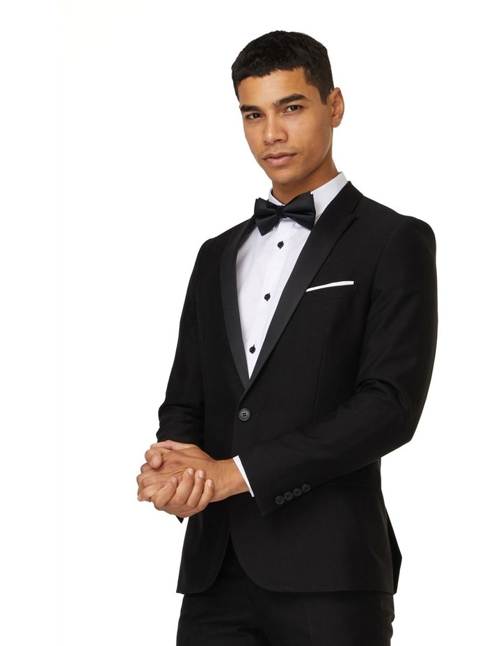 Jet Black Tuxedo Suit image 2