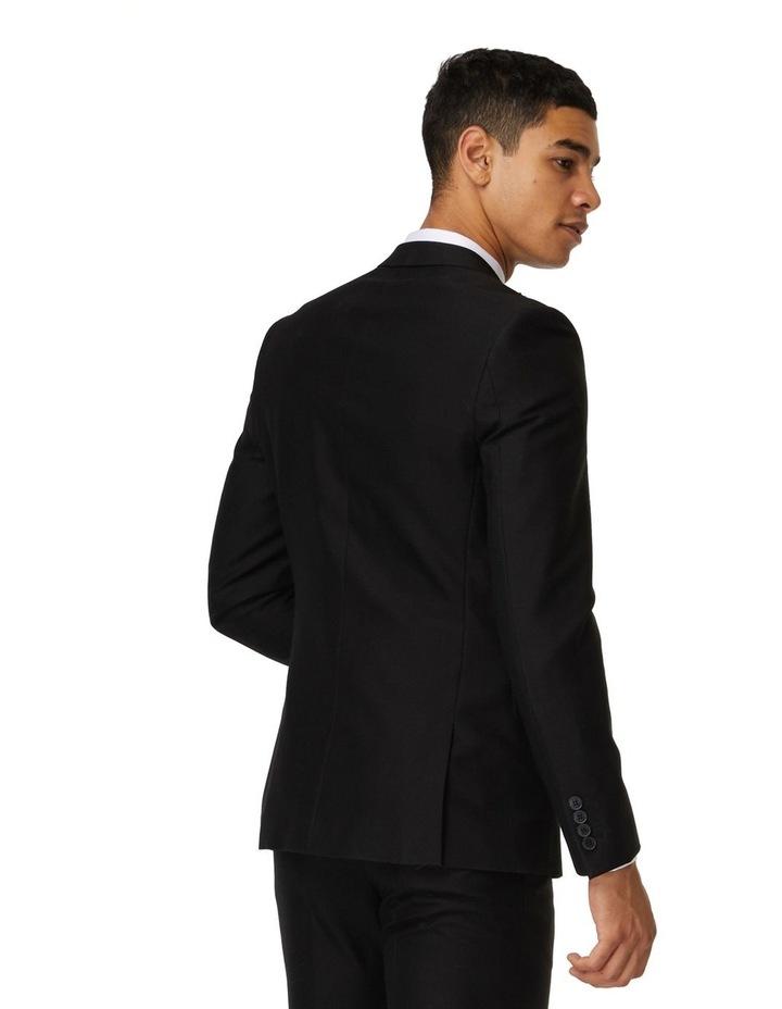 Jet Black Tuxedo Suit image 3
