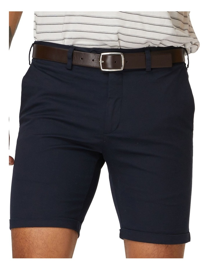 Navy Les Shorts image 4