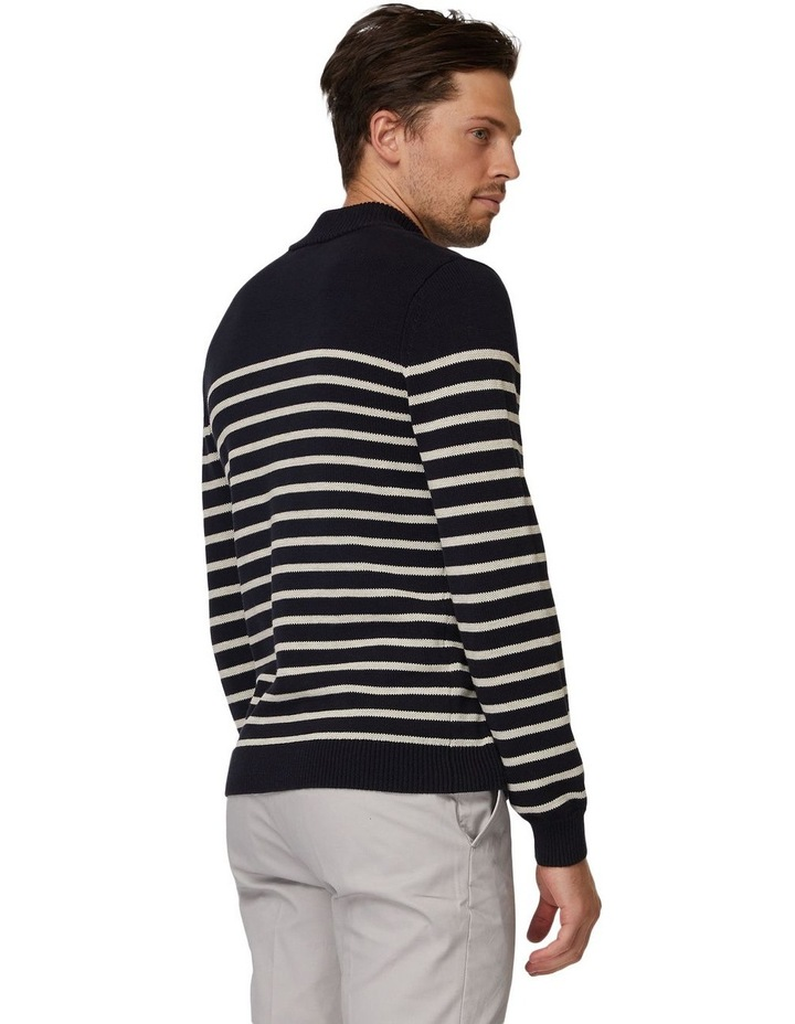Stripe Turtleneck Knit image 3