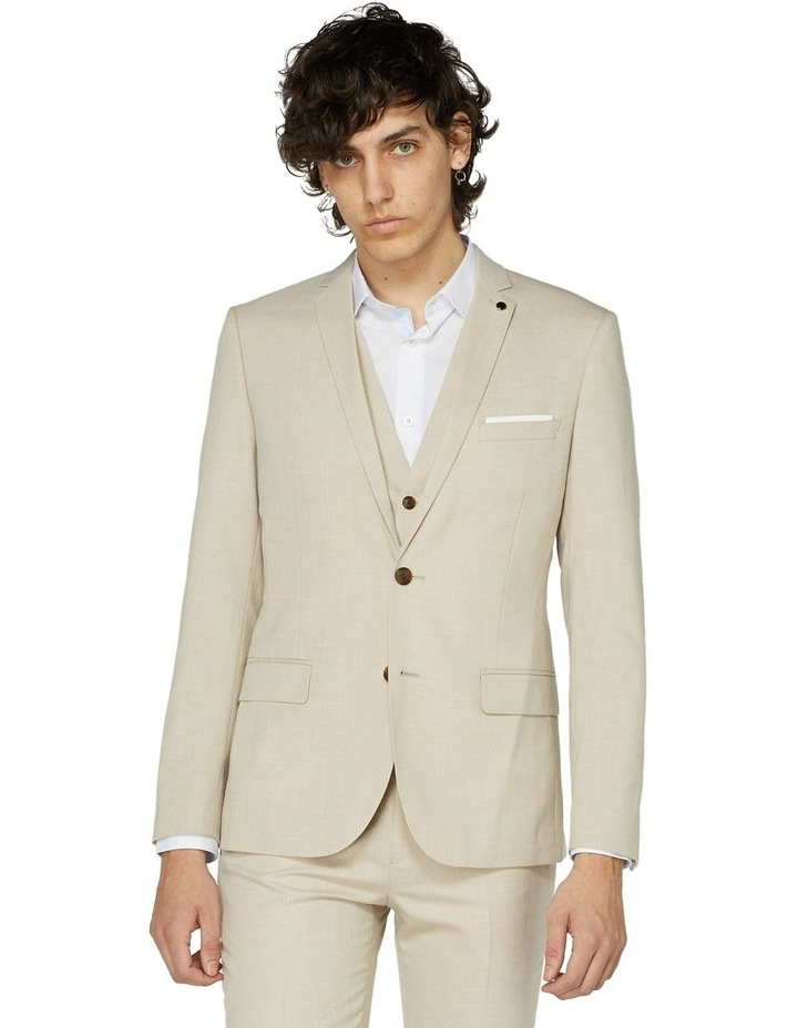 Beige Suit Jacket image 1