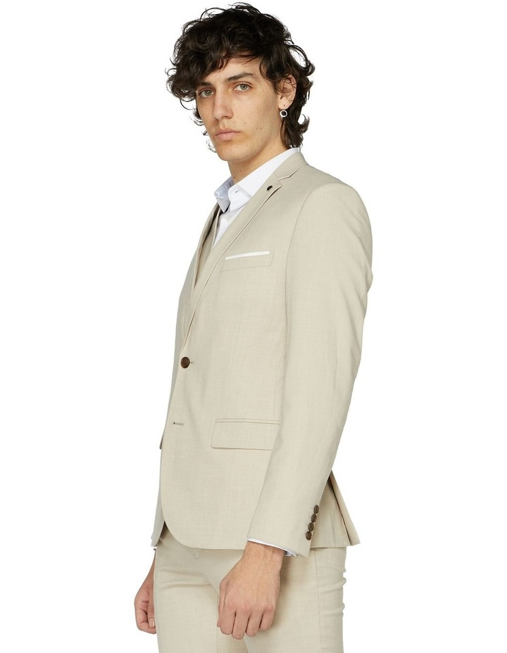 Beige Suit Jacket image 2
