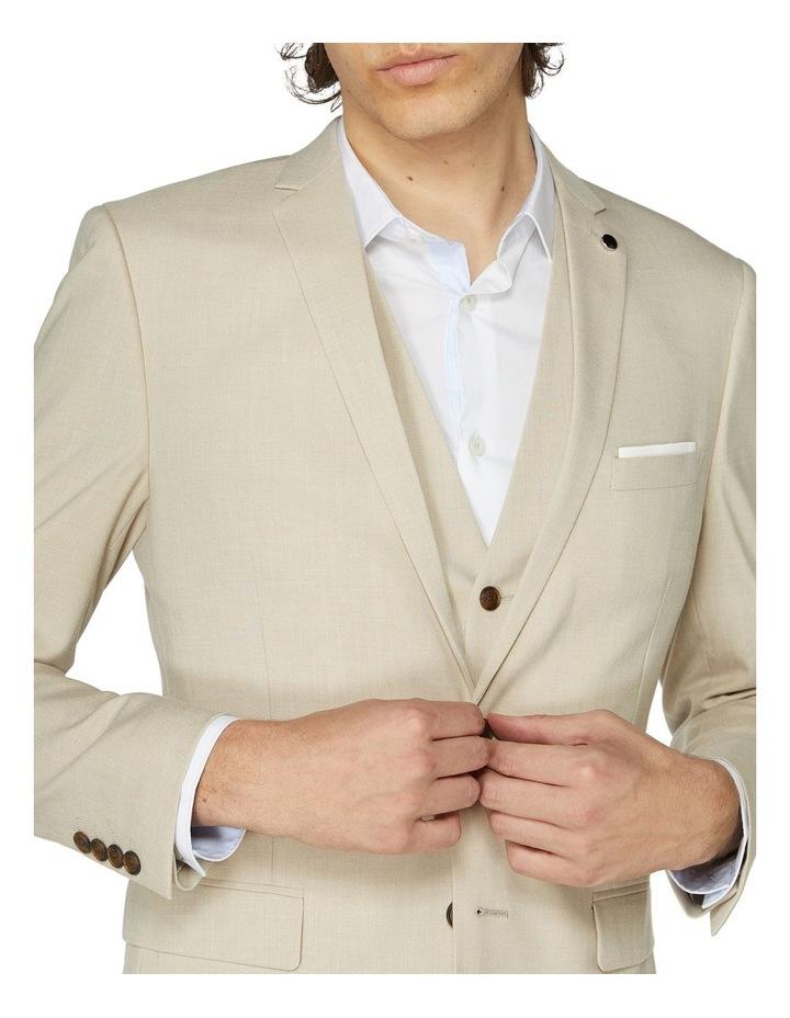 Beige Suit Jacket image 4