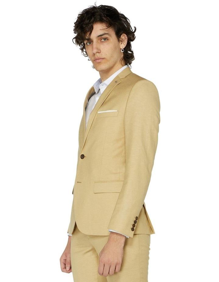 Fawn Linen Suit Jacket image 2