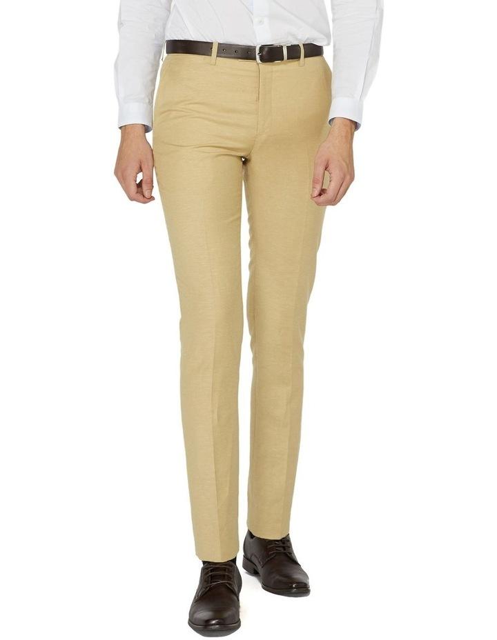 Fawn Linen Suit Pants image 1