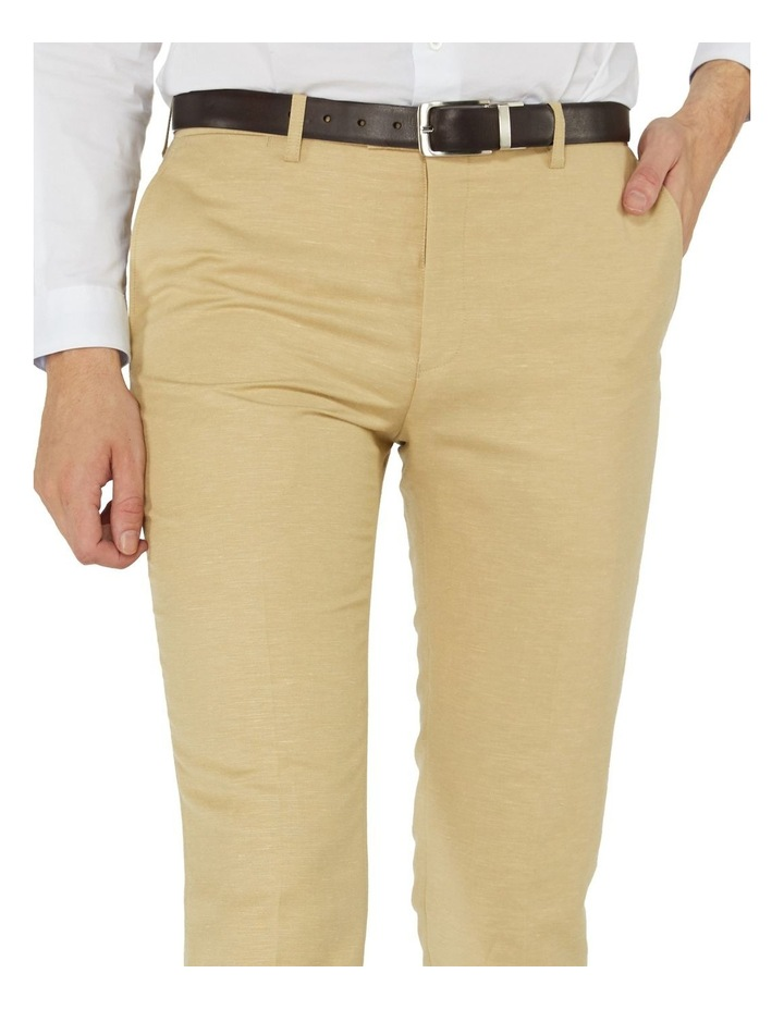 Fawn Linen Suit Pants image 4