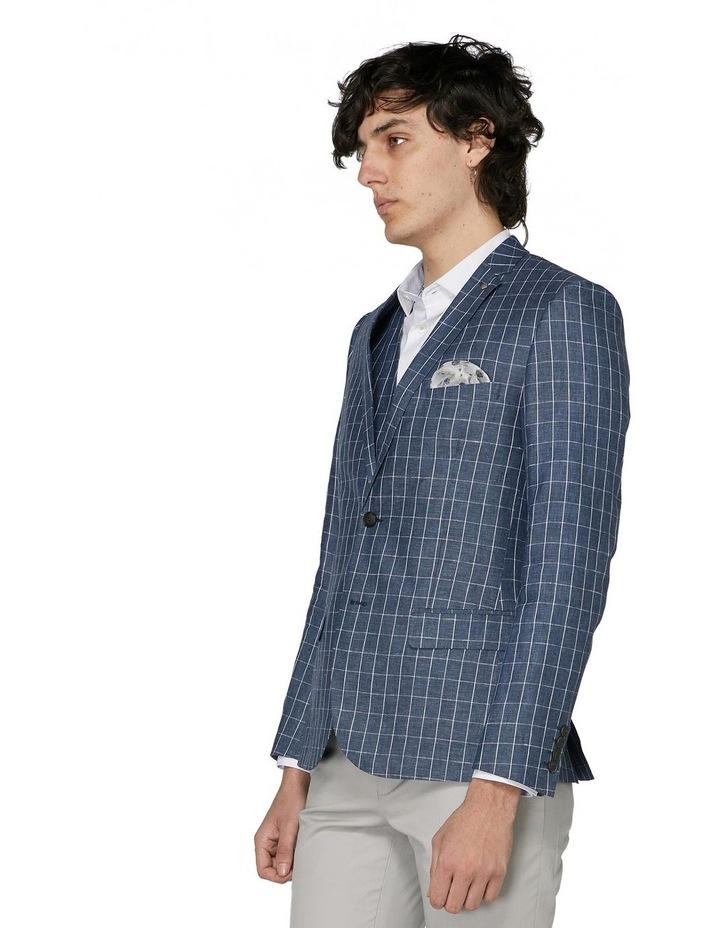 Linen Check Blazer image 2