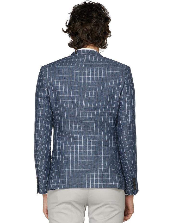 Linen Check Blazer image 3