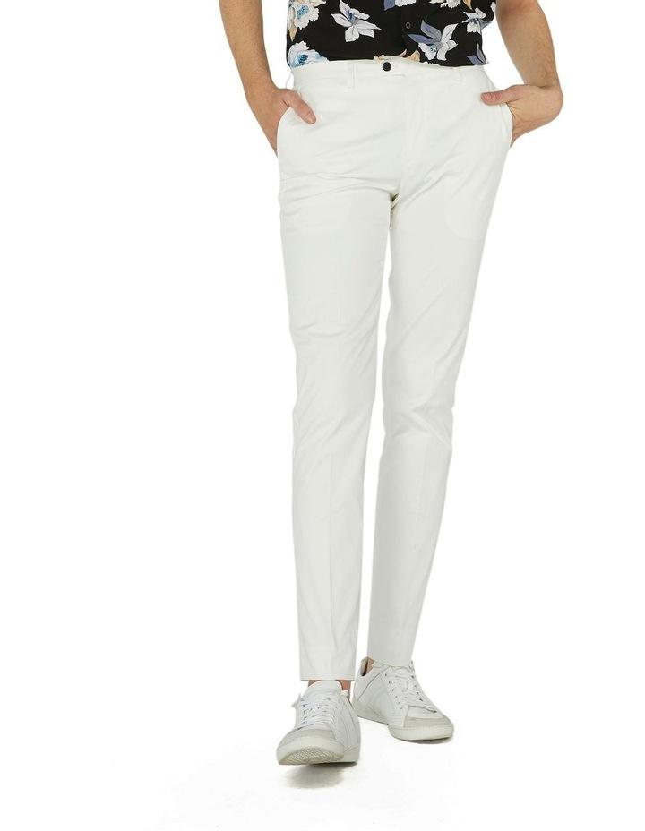 White Dress Chinos image 1