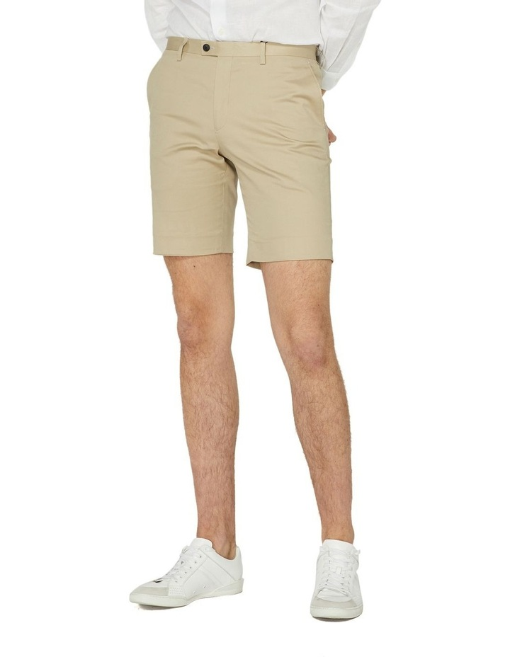 Taupe Dress Shorts image 1