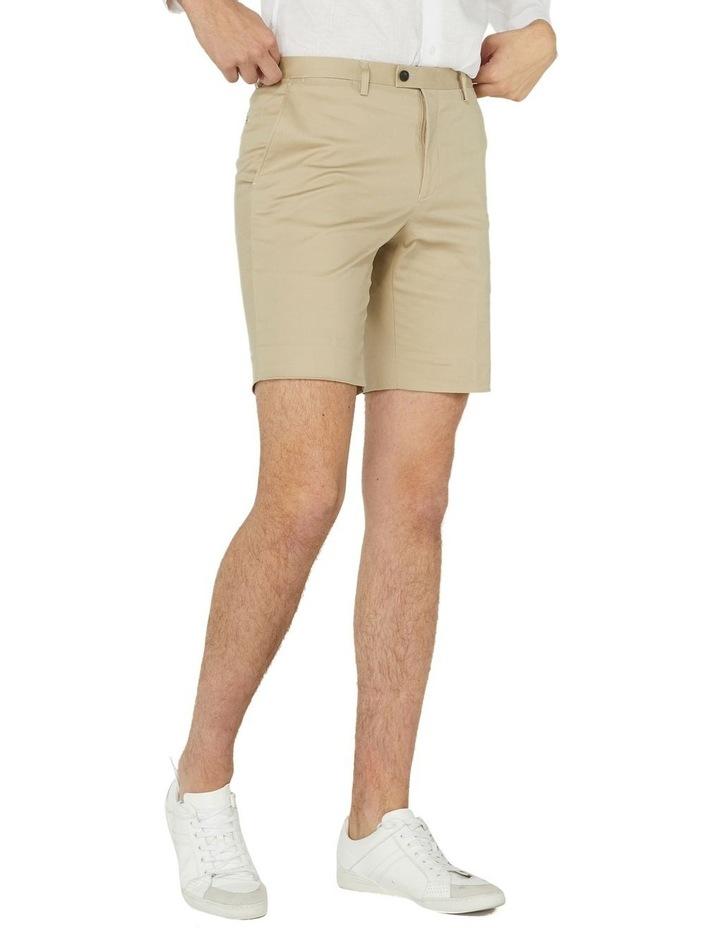 Taupe Dress Shorts image 2