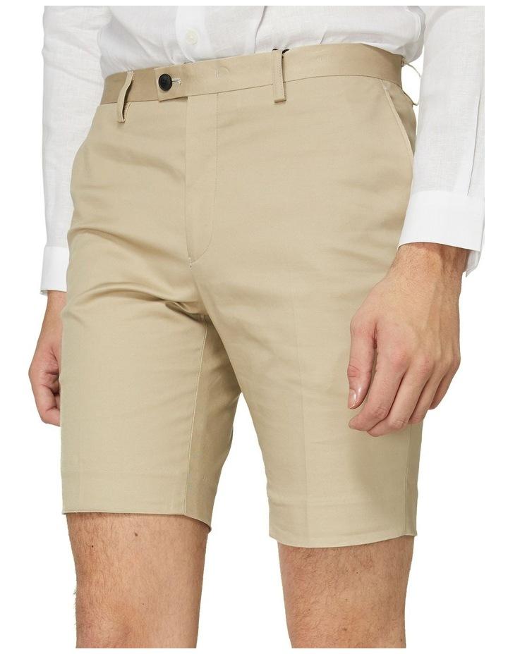 Taupe Dress Shorts image 4