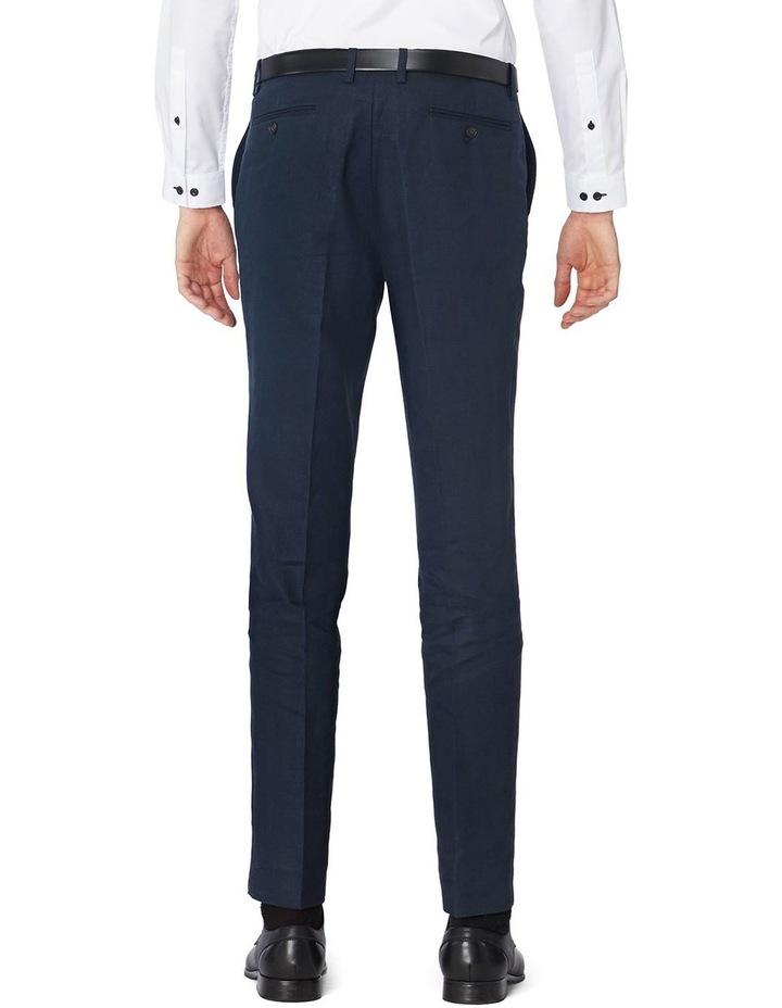 Navy Linen Suit Pants image 3