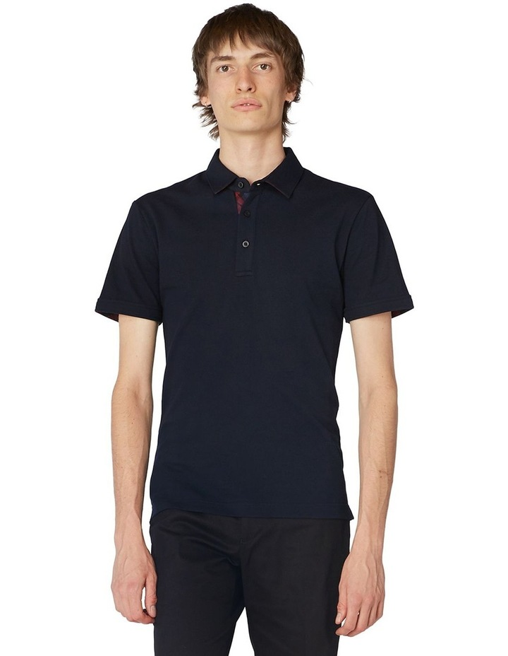 Navy Trimmed Polo image 1