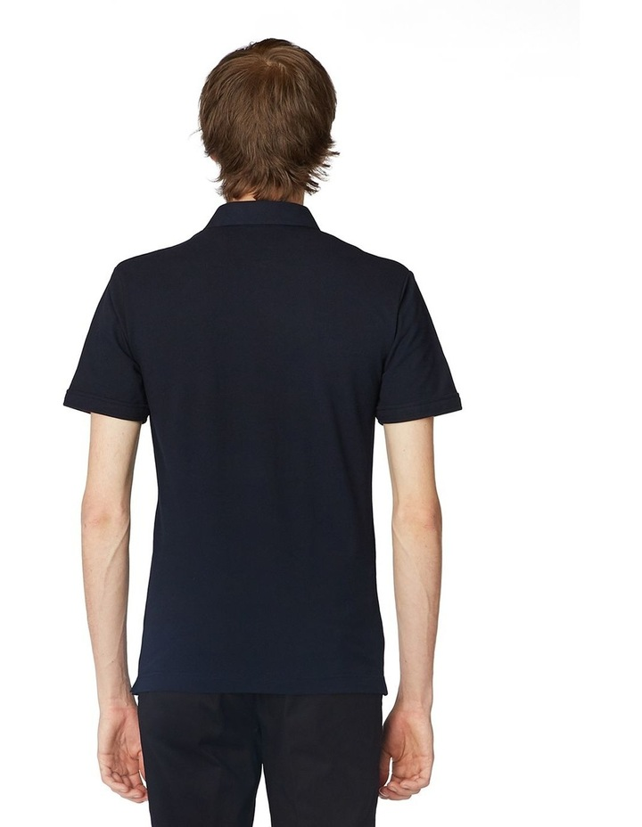 Navy Trimmed Polo image 3