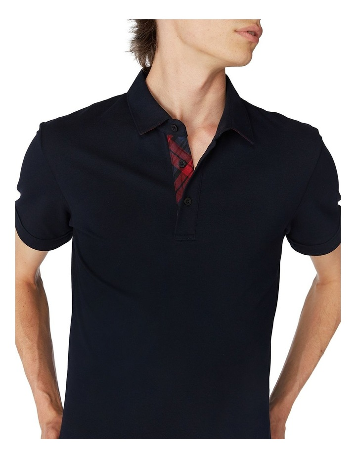 Navy Trimmed Polo image 4