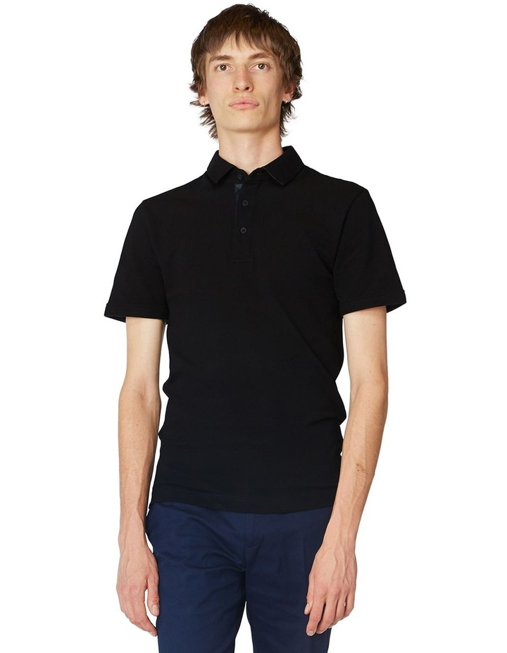 Black Trimmed Polo image 1