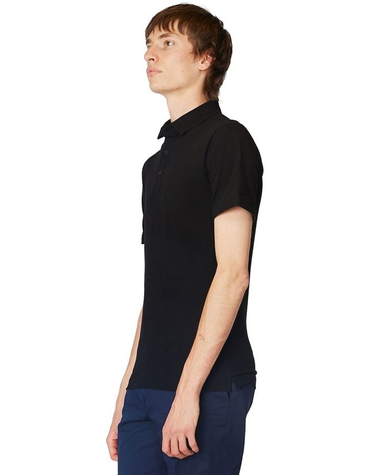 Black Trimmed Polo image 2