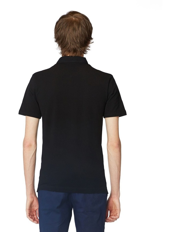 Black Trimmed Polo image 3