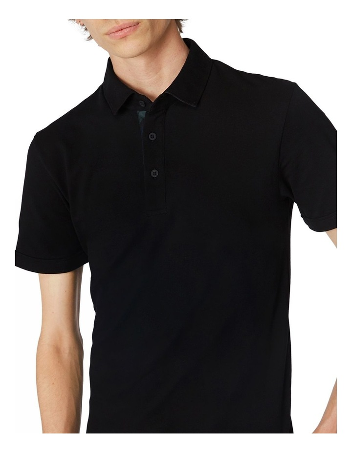 Black Trimmed Polo image 4