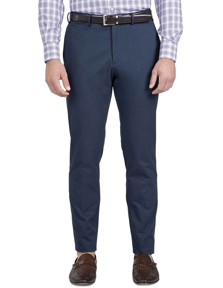 Modern Fit Navy Helm Chino image 1