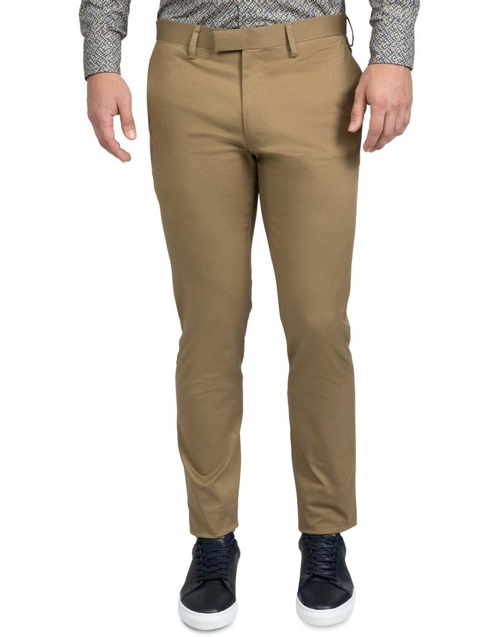 Modern Fit Taupe Helm Chino image 1