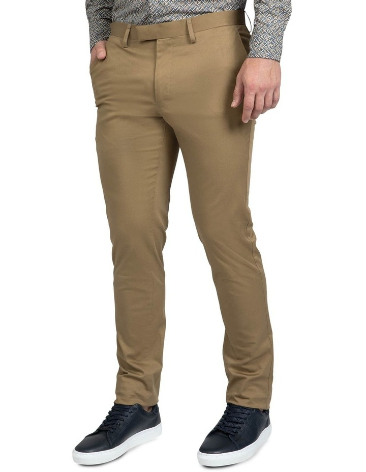 Modern Fit Taupe Helm Chino image 2