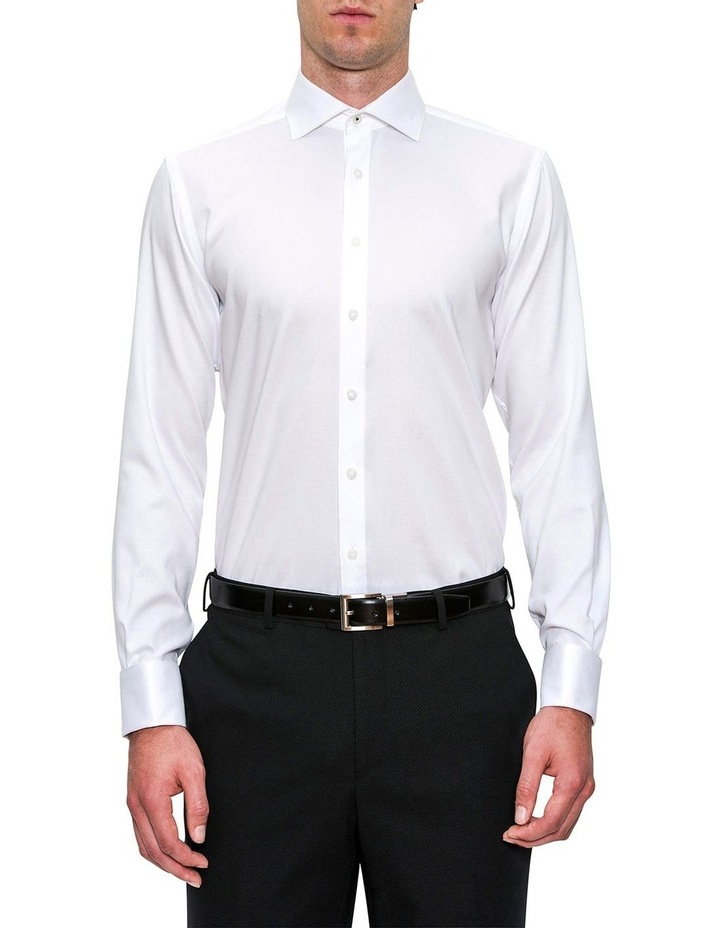Modern Fit White Elwood Shirt FCD050 image 1