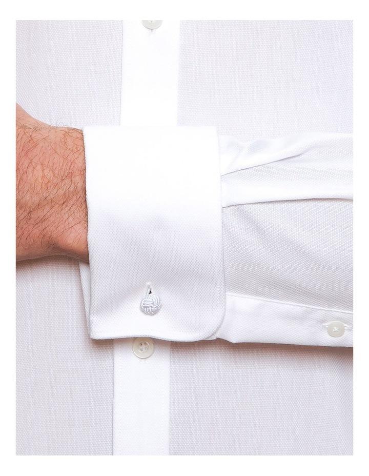 Modern Fit White Elwood Shirt FCD050 image 4