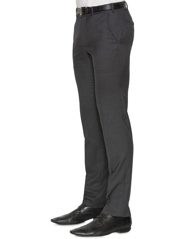 Charcoal Neat F2800 Suit Trouser image 2