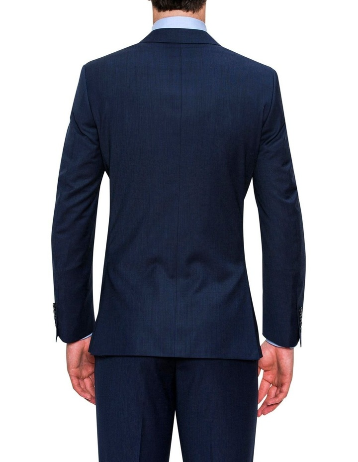 Navy Micro Textured FCF302 Suit Jacket image 3