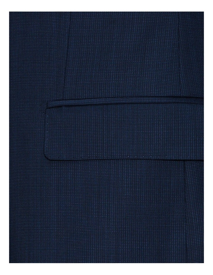 Navy Micro Textured FCF302 Suit Jacket image 4