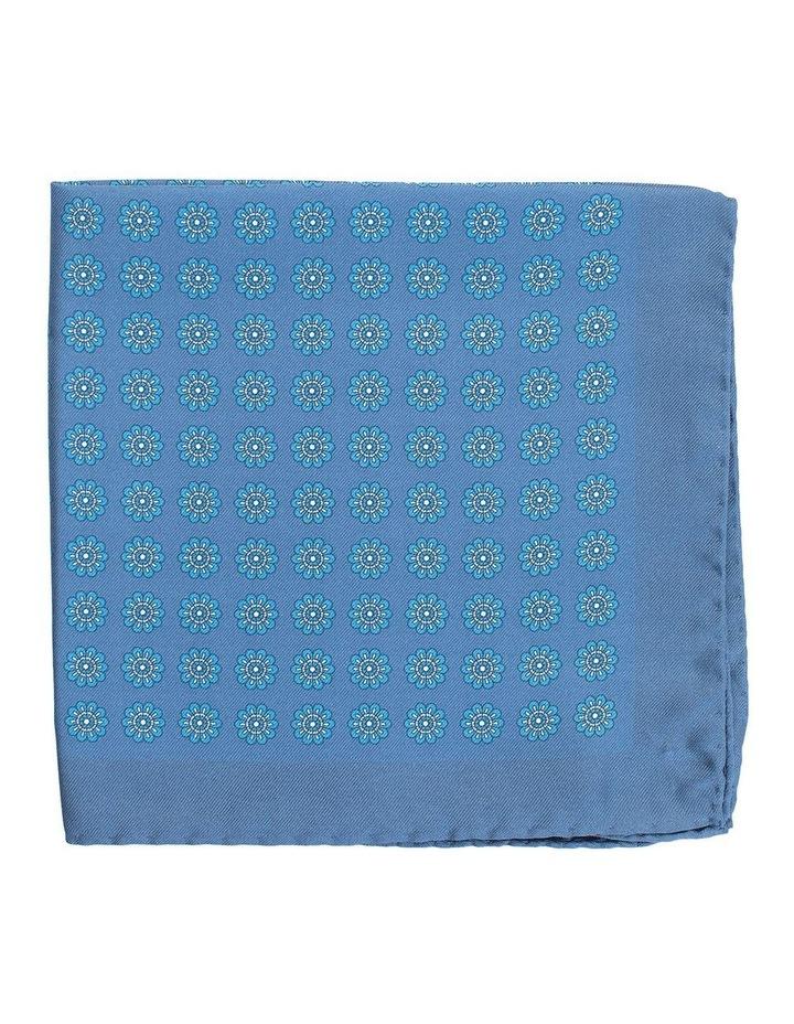 Foulard Pocket Square Teal image 1