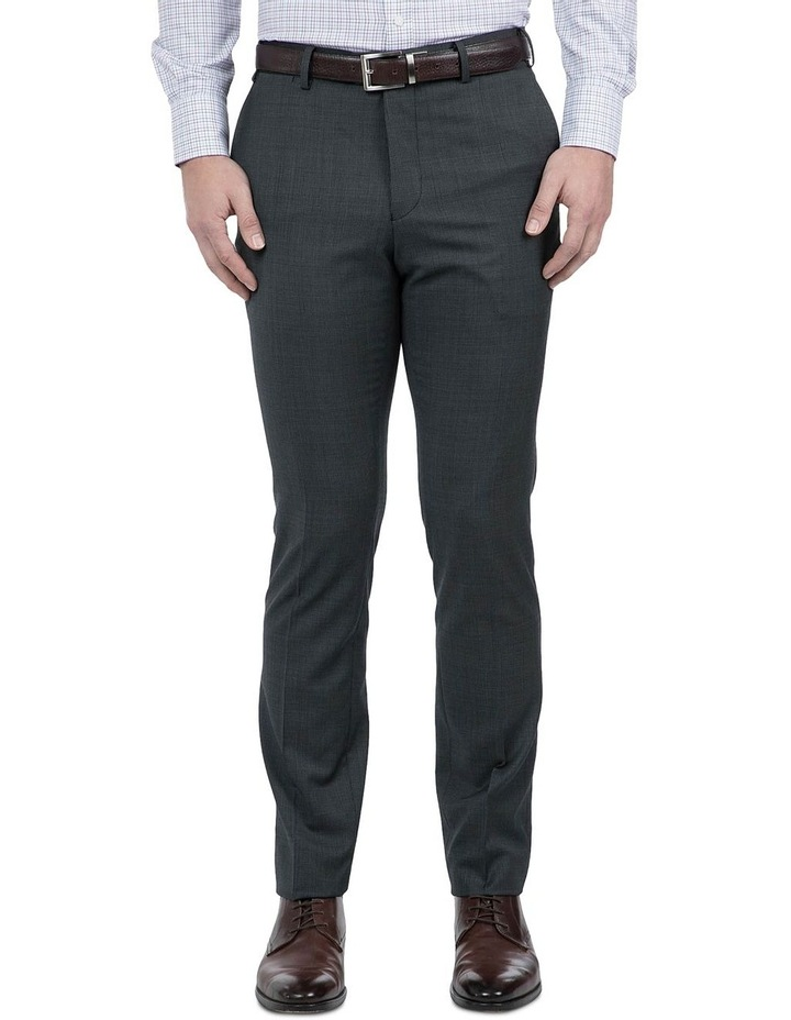 Modern Fit Charcoal Phantom Trouser image 1