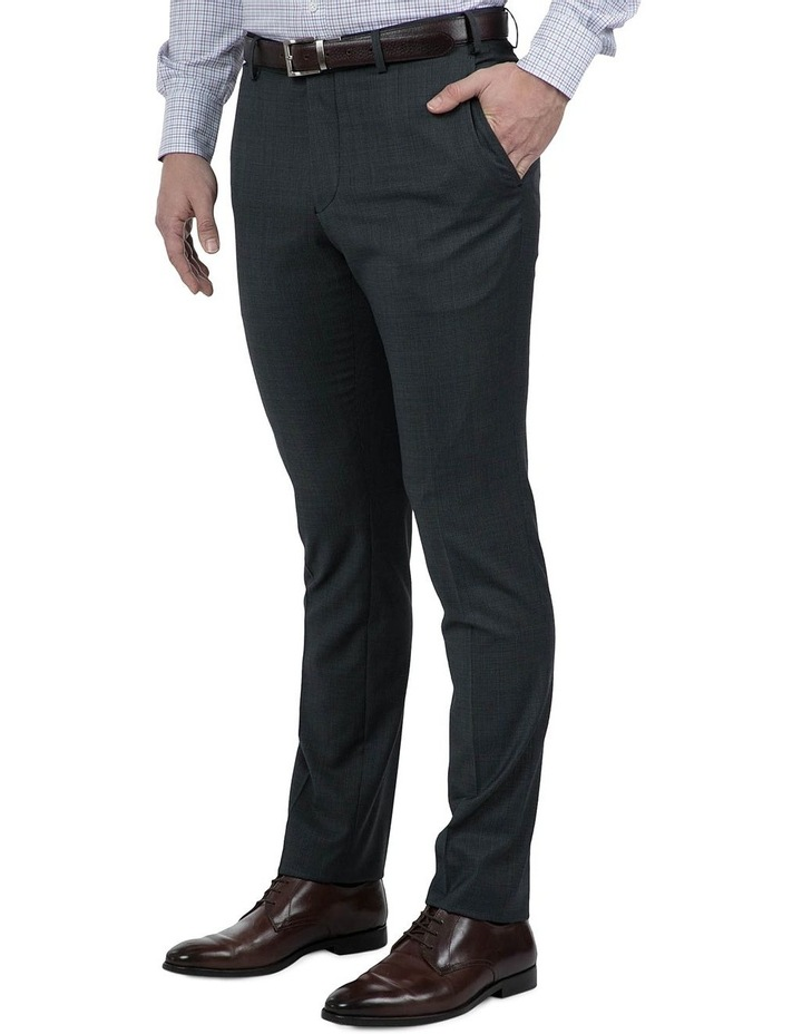 Modern Fit Charcoal Phantom Trouser image 2