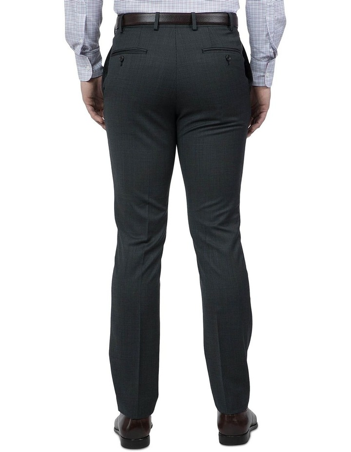 Modern Fit Charcoal Phantom Trouser image 3