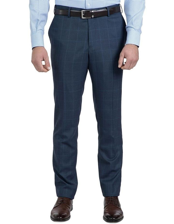 Modern Fit Blue Phantom Trouser image 1