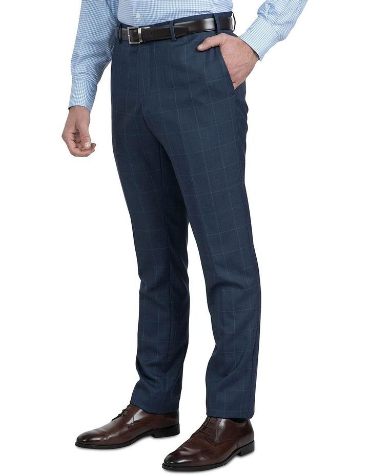 Modern Fit Blue Phantom Trouser image 2