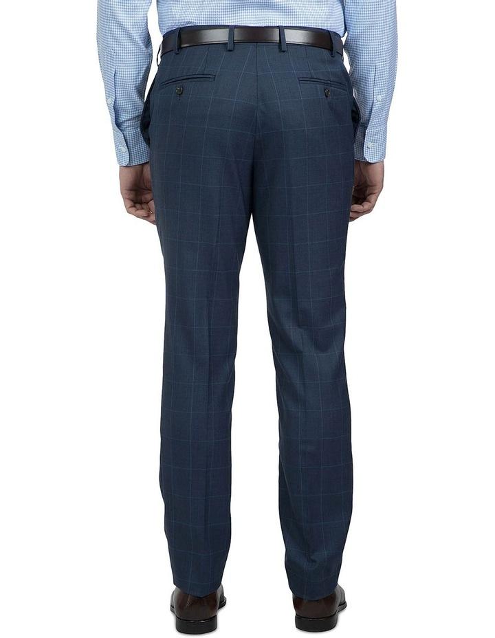 Modern Fit Blue Phantom Trouser image 3