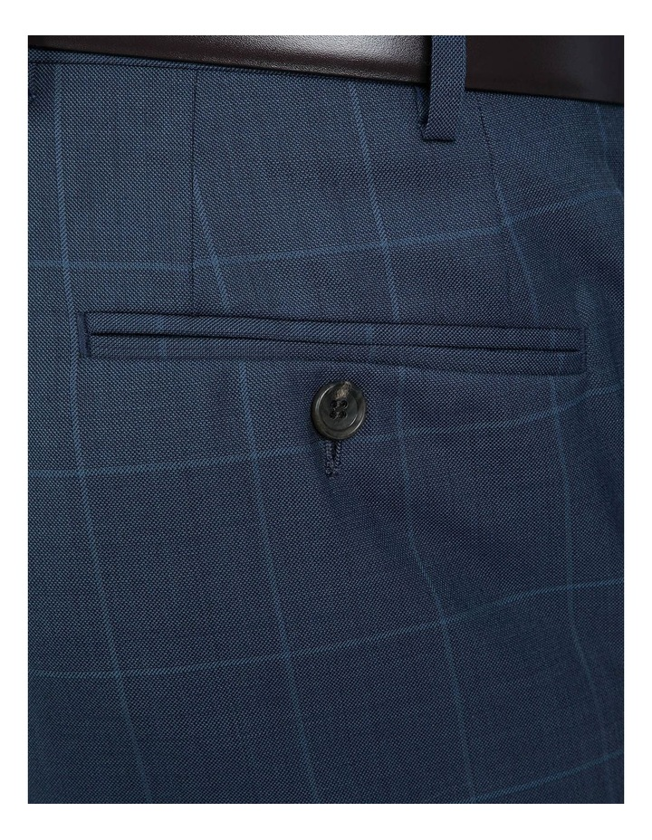 Modern Fit Blue Phantom Trouser image 4
