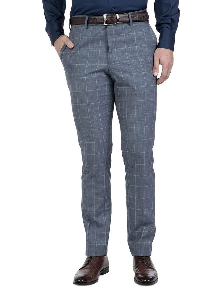 Modern Fit Light Blue Phantom Trouser image 1