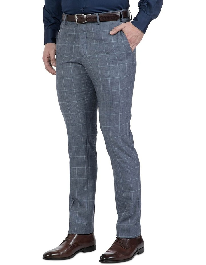 Modern Fit Light Blue Phantom Trouser image 2