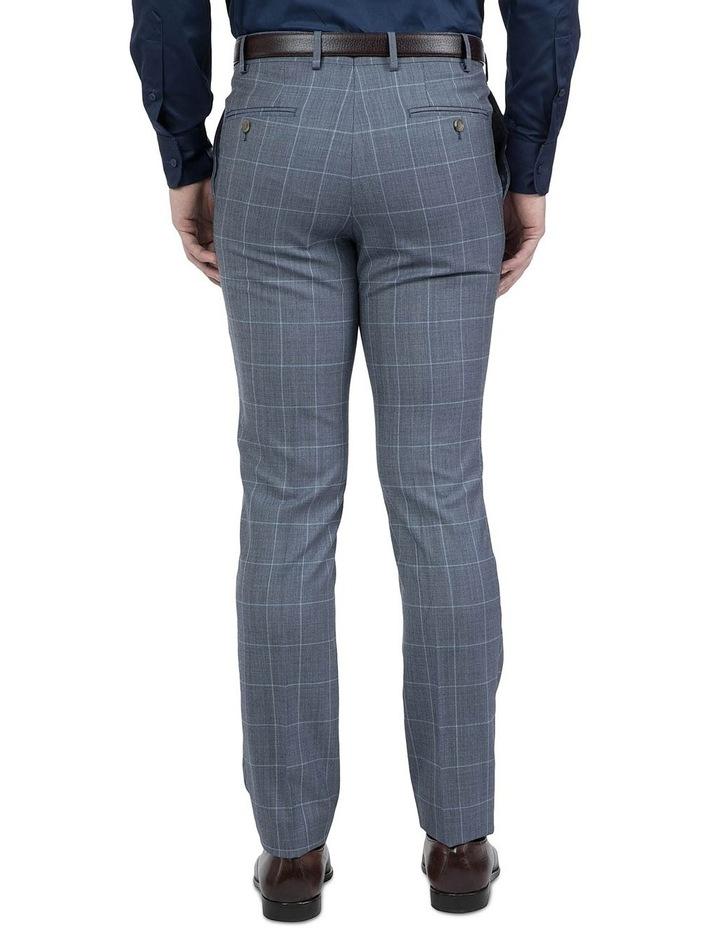 Modern Fit Light Blue Phantom Trouser image 3